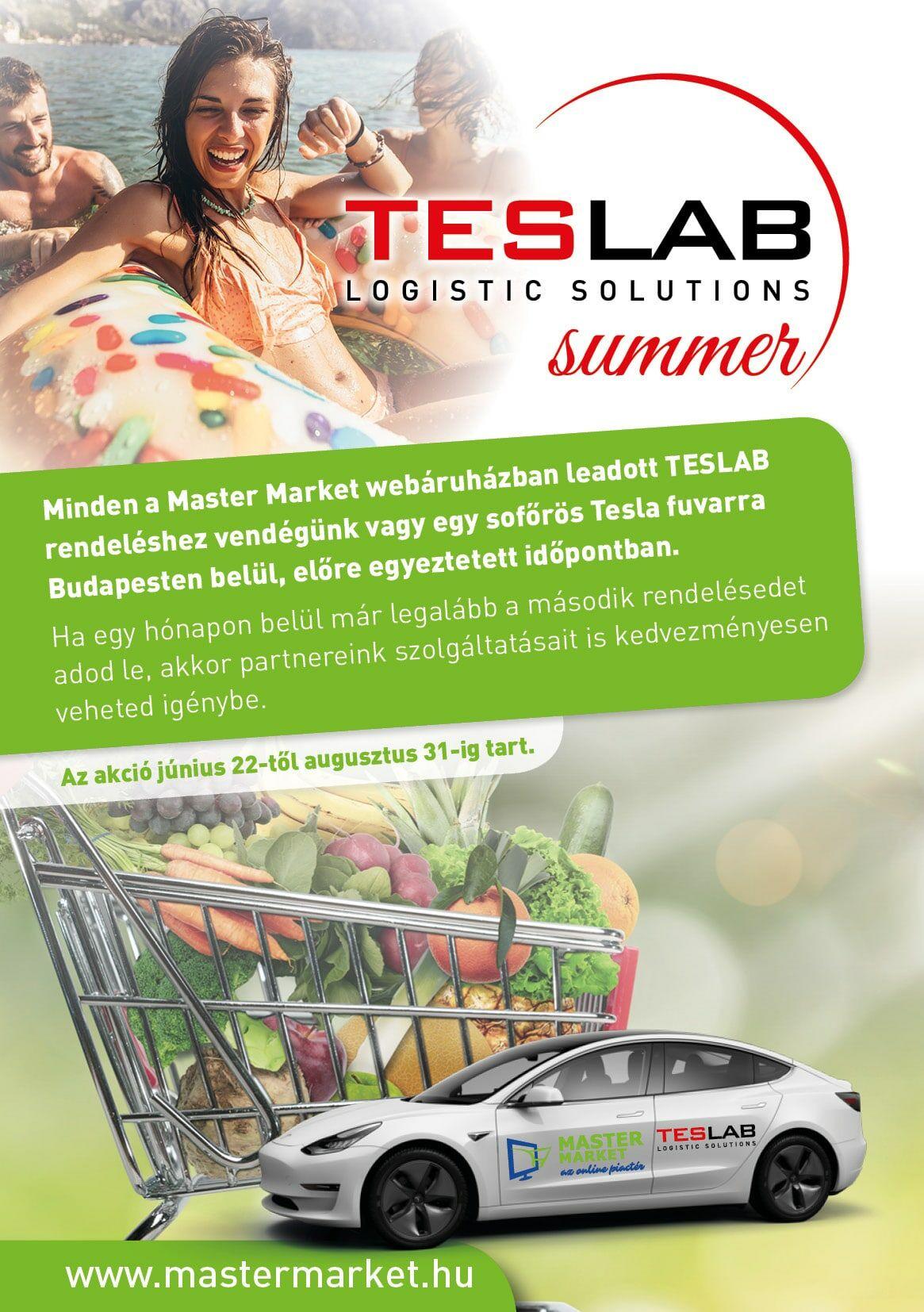 TESLAB Mastermarket.hu élelmiszer házhozszállítás
