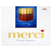 Merci Finest Selection 4 tejcsokoládé különlegesség 250 g
