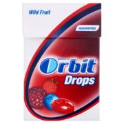 Orbit Drops Wild Fruit cukormentes cukorka 33 g