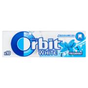 Orbit White Freshmint mentaízű cukormentes rágógumi 10 db 14 g