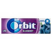 Orbit Blueberry feketeáfonya-ízű cukormentes rágógumi 10 db 14 g