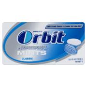 Orbit Prof.Mints Class.mentízű cukormentes töltetlen cukorka18g