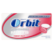 Orbit Professional Mints Forest Fruit cukormentes cukorka 18 g