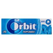 Orbit Peppermint mentízű cukmentes rágógumi 10db 14g