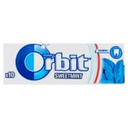 Orbit Sweetmint mentaízű cukormentes rágógumi 10db 14g