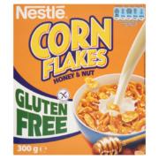 Nestlé Honey&Nut glutment kukoricapehely mézzel,földimogyoróval és vitaminokkal 300g