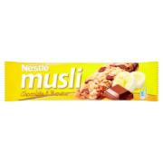 Nestlé Musli tejcsokoládés banános müzliszelet 40 g