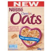 Nestlé Cheerios Oats ropogós gabona pehely  zabbal,vitaminokkal és ásványi anyagokkal 350g