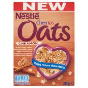 Nestlé Cheerios Oats ropogós fah.gab.pehely zabbal, vitaminokkal és ásványi anyagokkal 350g