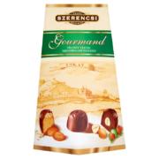 Szerencsi Gourmand töltött vegyes tejcsokoládé desszert 160 g