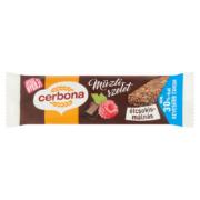 Cerbona étcsokis-málnás müzliszelet kakaós bevonattal cukorral és édesítőszerrel 20g