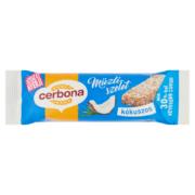 Cerbona kók.müzliszelet kakaós tejbevonóval,cukorral és édesítőszerrel 20g