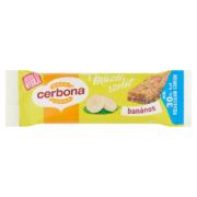 Cerbona banános müzliszelet kakaós tejbevonóval cukorral és édesítőszerrel 20g