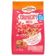 Cerbona Crunchy ropogós gyümölcsös müzli 225 g