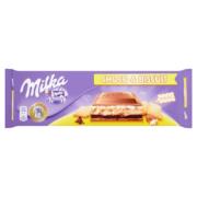 Milka alpesi tejcsokoládé kekszes, tejszínes krémmel töltve 300g