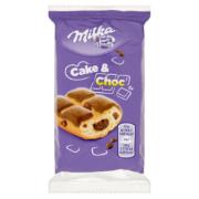Milka Cake & Choc piskóta alpesi tejcsokoládé darabkákkal és csokival töltve 35g