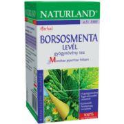 NATURLAND BORSOSMENTALEVÉL TEA 20X1,5G