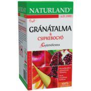 NATURLAND GRÁNÁTALMA CSIPKEBOGYÓ TEA 20X2G