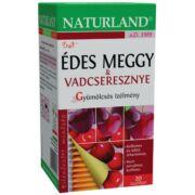 NATURLAND ÉDES MEGGY VADCSERESZNYE TEA 20X2G