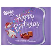 Milka H.B. meggyízű alpesi tejcsokoládé praliné kakaós krém&meggy töltelékkel 110g