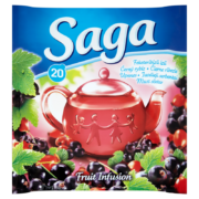 Saga tea 20 filter Feketeribizli 36g