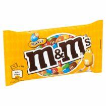 M&M's földimogyorós drazsé tejcsokoládéban cukorbevonattal 45 g