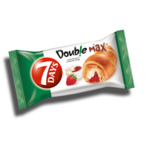 7Day's Double Croissant vanília-eper 80g