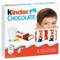 Kinder tejcsokoládé szelet tejes krémmel töltve 4 db 50 g