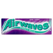 Airwaves Feketeribizli drazsé cukormentes rágógumi 14 g