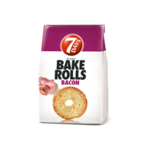 7Day's Bake Rolls bacon 70g