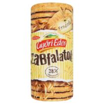 Győri Édes Zabfalatok eredeti zabpelyhes, omlós keksz 215 g