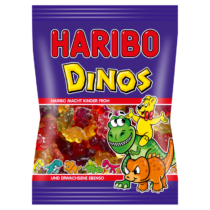 Haribo Dinos gyümölcsízű gumicukorka 100 g