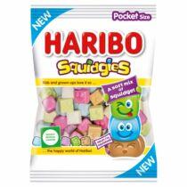 Haribo Squidgies gyümölcs- és kólaízű habosított gumicukorka 80 g