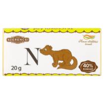 Szerencsi Állat ABC tejcsokoládé 20 g