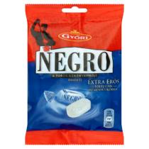 Győri Negro extra erős töltetlen keménycukorka 79 g