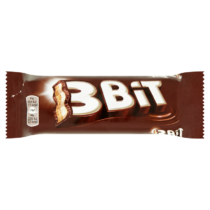 3Bit tejcsokoládéval bevont keksz szelet tejes töltelékkel 46g