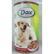 Dax állateledel kutyáknak Marha 1240g