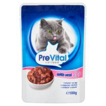 PreVital állateledel macskáknak 100g  Borjú