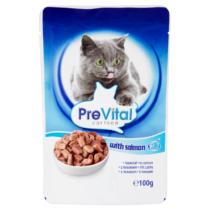 PreVital állateledel macskáknak 100g  Lazac