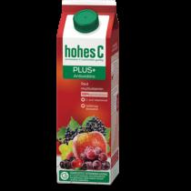 Hohes C Plus Antioxidáns Red Multivitamin 100% vegyes gyümölcsital 1 l
