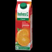 Hohes C Classic 100% narancslé gyümölcshússal 1 l