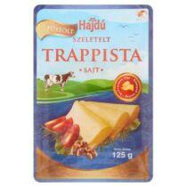 Hajdúsági Trappista sajt  füstölt 125g szeletelt 4323