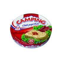 CAMPING chili paprikás kenhető zsírdús ömlesztett sajt 140 g 3302