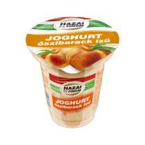 Hazai és Finom gyümölcs joghurt 125gr őszibarack  7236