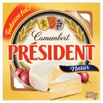 President camembert natúr 90g 8736