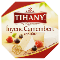 Tihany ínyenc camembert natur 125g 8335