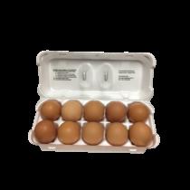 Friss étkezési tojás  10 db-os M méret 53 - 63g