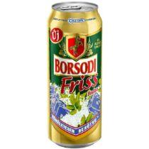 BORSODI FRISS BODZA-CITROM 0,5 L   DOBOZOS SÖR