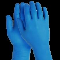 Kesztyű nitril kék 200db/cs 12608