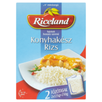 Riceland Konyhakész Rizs hántolt h.szemű főzőtsakos 250g